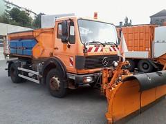 MB NG 1822 (Vehicle Tim) Tags: orange mercedes ng mb fahrzeug lkw laster schneepflug komunal