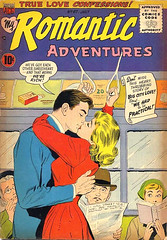 Romantic Adventures 67 (Michael Vance1) Tags: woman man art love comics artist marriage romance lovers comicbooks relationships cartoonist anthology silverage