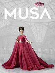 Musa (Donation to the Italian Doll Convention) (davidbocci.es/refugiorosa) Tags: david milan fashion italian doll ooak barbie rosa convention donation refugio musa mattel bocci muñeca