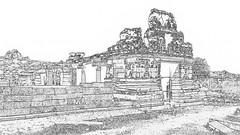 India - Karnataka - Hampi - Vittala Temple - 40c (asienman) Tags: india unescoworldheritagesite karnataka hampi vijayanagara asienmanphotography asienmanphotoart