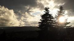 Dramatic Sky (rocknrolltheke) Tags: trees sun luz sol weather silhouette backlight clouds licht cloudy silhouettes wolken sunny backlit sonnig sonne bume lux luce gegenlicht wolkig lumen odenwald luminosity sddeutschland southerngermany gersprenztal silhouetten
