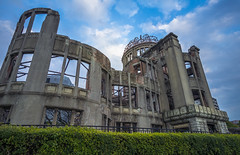 Atomic Bomb Dome (ErikFromCanada) Tags: travel japan japanese remember wwii wideangle calm hiroshima horror ww2 bomb atomic atomicbomb abomb abombdome atomicbombdome a7r