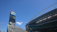 Great day for soccer! (SEdmison) Tags: seattle football soccer sounders seattlesoundersfc