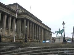 St George Building, Liverpool (14th Apr 2016) (RETRO STU) Tags: liverpool beatles limestreet harveylonsdaleelmes gradeilistedbuildings stgeorgebuilding thomasthornycroftsculptor princealbertequestrianstatue