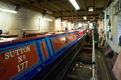 Bulbourne Dry Dock (stevebell) Tags: drydock narrowboat hertfordshire grandunioncanal boatrepair boatrestoration boatmaintenance bulbournejunction nikond7100 bulbournedrydock stevebell wwwbatesboatyardcouk narrowboatsutton batesboatyardltd