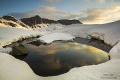 Baignoire nordique (Ronan'35) Tags: montagne lac pic neige paysage pyrnes ayous ronanlambert