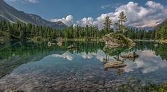 Lagh da Saoseo (shir.kan60) Tags: mountain lake switzerland da bergsee graubnden puschlav saoseo lagh