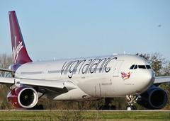 G-VRAY (AnDrEwMHoLdEn) Tags: manchester airport virgin a330 virginatlantic manchesterairport egcc 05l