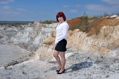 DCS_9789 (dmitriy1968) Tags: portrait cliff nature girl beautiful erotic outdoor wife quarry    sexsual