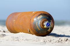 oxygen (kristian.pichol) Tags: ocean blue red sea brown rot beach strand found sand meer north oxygen braun blau rost dnemark nordsee blavand gefunden sauerstoff
