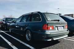 (gbrldz) Tags: wagon virginia town dulles center bmw bbs lowered 525i e39