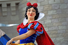 Princess Snow White (giorgymolano) Tags: world show white snow classic face mouse with princess stage character magic dream kingdom disney mickey resort entertainment seven cinderella walt performer along dwarfs caste