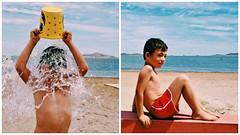 (NoelUroz) Tags: beach boys girl childhood twins couple playa nios nia infancia gemelos