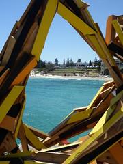 The Break Wall - Elyssa Sykes-Smith (Figgles1) Tags: sea sculpture wall break cottesloe sculpturebythesea sculptures 2016 p1010801 thebreakwall elyssasykessmith