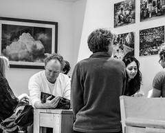 the reader (pamelaadam) Tags: winter people bw digital visions scotland meetup fotolog aberdeen february lurkation 2015 thebiggestgroup