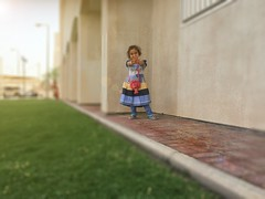 My Gudai (zai Qtr) Tags: colors spring heart father daughter doha qatar manal rayyan gudai iphoneography