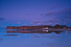 Huntcliffe at dusk : Islands in the sky. (paul downing) Tags: sunset reflections nikon nighttime northsea 12 filters hitech northyorkshire huntcliffe gnd saltburnbythesea pd1001 pauldowning d7200 pauldowningphotography