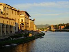 River Arno in Florence (chibeba) Tags: city urban italy florence spring europe april 2016 citybreak