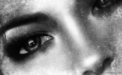 The windows to her soul (Wilberforce Buckshot / Klaas de Jonge) Tags: nose eyes lashes brow brows