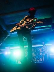 Well Hung Heart (BurlapZack) Tags: show blue portrait musician green bokeh guitar livemusic perspective wideangle solo venue guitarist musicfestival rockandroll riff shred musicfest pack01 dentontx gdac wellhungheart vscofilm 35denton olympusmzuiko17mmf18 olympusomdem5markii