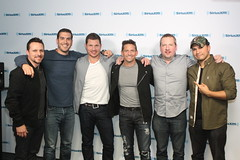98 Degrees in studio (covinoandrich) Tags: show justin jeff radio tour satellite nick rich drew 98 degrees lachey timmons jeffre my2k siriusxm covino
