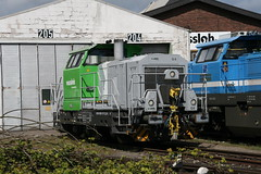 Vossloh G6 650 107-2 (Harrys Train photos) Tags: g6 moers diesellok baureihe dieselloc vossloh br650
