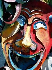 Smile (e r j k . a m e r j k a) Tags: sculpture pennsylvania mercer figure publicart roadside grovecity i79pa pa208 erjkprunczyk