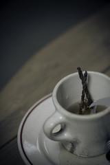 Karma coffee (legaryphotography) Tags: cup dark photography photo nikon rust drink bokeh picture creepy nails mug erie photooftheday
