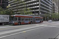 Muni NFI XDE60 (ExactoCreation) Tags: new bus flyer san francisco muni transit hybrid xcelsior xde60