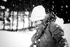 Jenny (Nadge Gascon) Tags: winter portrait snow hiver neige charente corrze ngphotographe