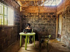 The Wifes Office (Willem Heerbaart) Tags: nigeria edo benincity