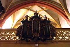 St. Maria und Johannes, Rmhild, Orgel (palladio1580) Tags: thringen kirche thueringen organ organo orgel gotik orgue rmhild