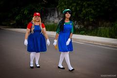 Ana & Anna | Mario e Luigi | (KarymidoN) Tags: fun cosplay nintendo manga mario games cosplayer luigi maraba