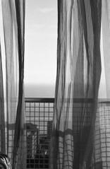 Playa (Estefania Mateo) Tags: viaje cortina hotel cuba playa habana balcon analogico