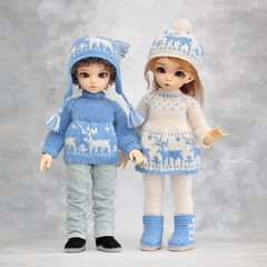 Commission work ♥ (Maram Banu) Tags: outfit doll handmade bjd bkue fairyland dears ante yosd chiwoo littlefee fairystyle marambanu
