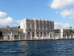 "Dolmabahçe Palace from Bosphorus 1 (Christopher M Dawson) Tags: travel building tourism architecture turkey ataturk istanbul palace international government sultan dawson turkish dolmabahçe palace"" cmdawson 184356 ©2015 ""dolmabahçe"