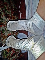 white/gray Hanes ankle sock 1 (nettie83_2000) Tags: socks sock dirty sweaty smelly hanes dirtysock