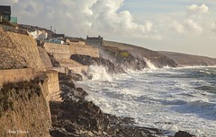 Porthleven (andyg1962) Tags: ocean sea storm canon eos coast cornwall waves wind atlantic lizard coastal 5d peninsula porthleven