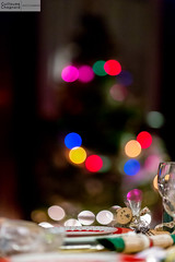 Noel 2015 (Guillaume Chagnard Photographie) Tags: christmas table noel sapin assiette guirlandes
