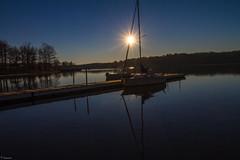 Early Morning Sun @ Lake Wheeler Park (Mr_Samson) Tags: park morning vacation sun lake water sunrise canon lens boat nc outdoor northcarolina raleigh 7d wheeler lakewheeler ralieghnc 1018mm lakewheelerpark canoneos7d