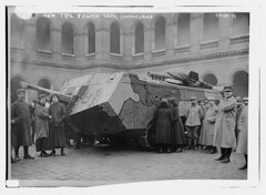 New type French Tank, camouflaged (LOC) (The Library of Congress) Tags: tank wwi worldwari libraryofcongress ww1 greatwar saintchamond frencharmy thegreatwar armedeterre thefirstworldwar famh armeedeterre xmlns:dc=httppurlorgdcelements11 armoredwarfare armouredwarfare charsaintchamond compagniedesforgesetaciriesdelamarineetdhomcourt saintchamondtank dc:identifier=httphdllocgovlocpnpggbain25825