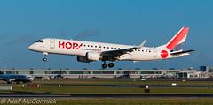 F-HBLD HOP! Embraer ERJ-190LR (ERJ-190-100 LR) (Niall McCormick) Tags: dublin airport aircraft hop airliner lr embraer eidw erj190100 erj190lr fhbld
