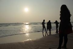 Varkala Beach (Picstalk Photography) Tags: trip sun beach