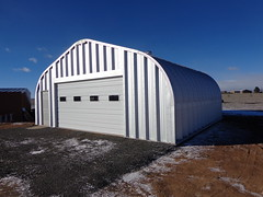Simple Steel Garage