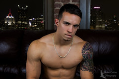 Model Eddie (Shawn Collins Photography) Tags: shirtless male model eyes pittsburgh arms modeling masculine muscular handsome health fitness gym abs built fit malemodel chests fitnessmodel