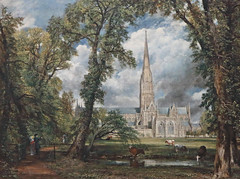 Salisbury Cathedral - John Constable (AnthonyR2010) Tags: london museum painting gallery cathedral va victoriaandalbertmuseum salisbury salisburycathedral constable johnconstable