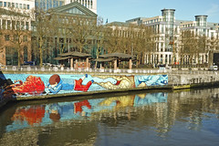 Les quais (Bruxelles) (@necDOT) Tags: brussels streetart graffiti kat bruxelles knal smates denismeyers kosmopolitearttour stevelocatelli alleedukaai