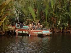 kampot (mrcharly) Tags: water river asia cambodia kampot cambodja kampuchea preaektuekchhu