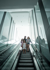 (peterhaupt) Tags: light lines kids stairs moments down goingdown