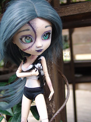 Saeko Izanami (nezumi.freak) Tags: pullip modification palau reial deaddoll animeeyes zombiegirl faceup obitsu newmakeup zombiedoll fullcustom pulliphybrid zombiecideddoll